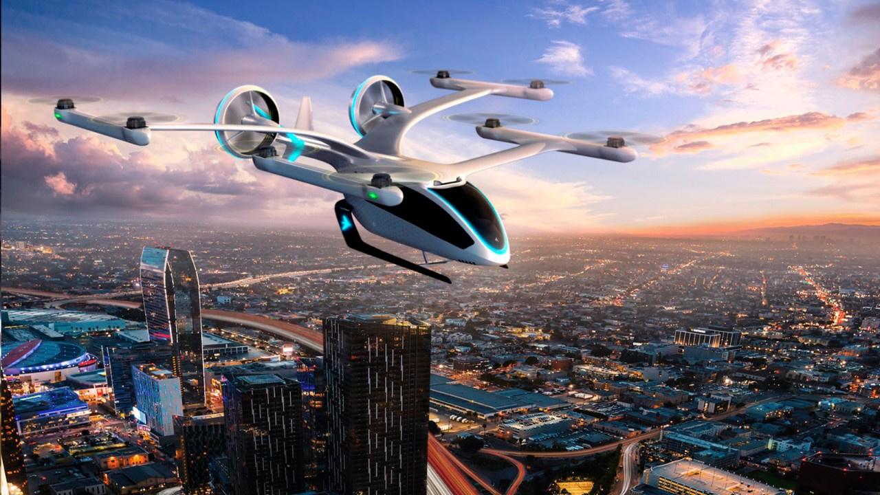 Japon teknolojisi yine konuştu! Uçan taksi ile yolcu taşıyacak!