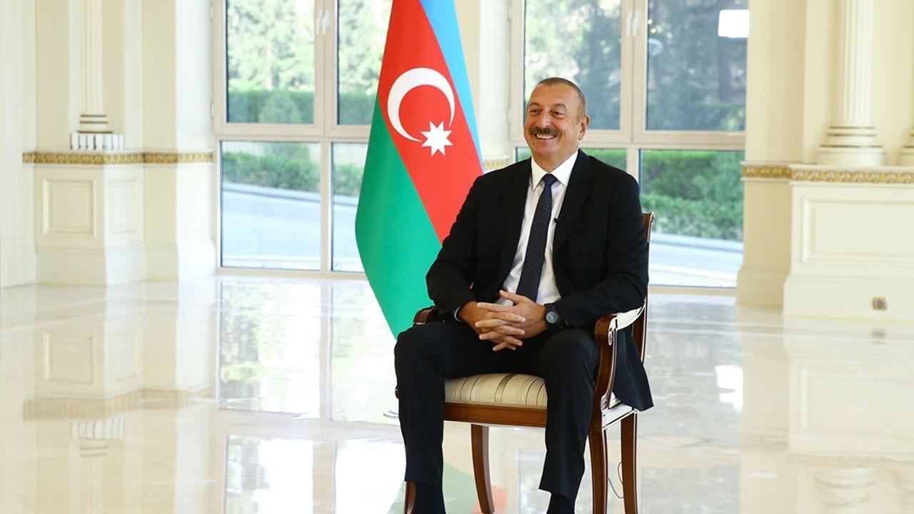 Azerbaycan lideri Aliyev'in duygusal anları...