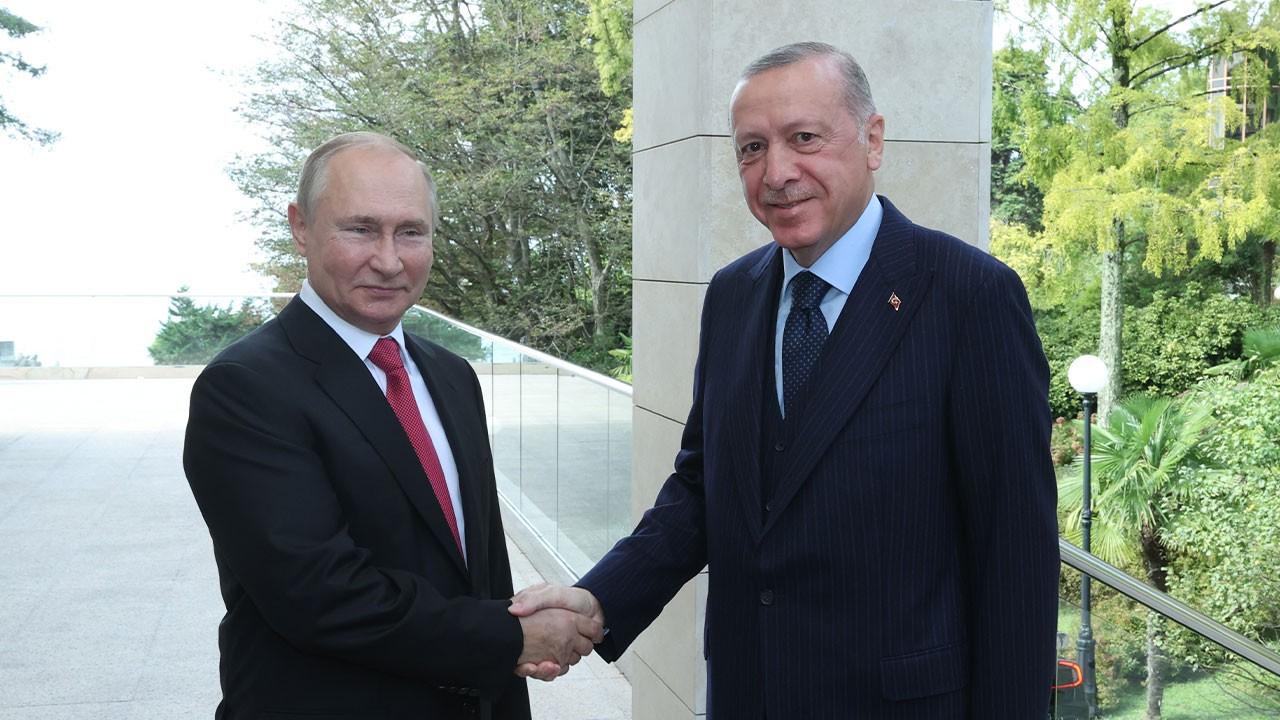 Erdoğan ile Putin görüşmesi sona erdi! Erdoğan: Verimli bir görüşme gerçekleştirdik.