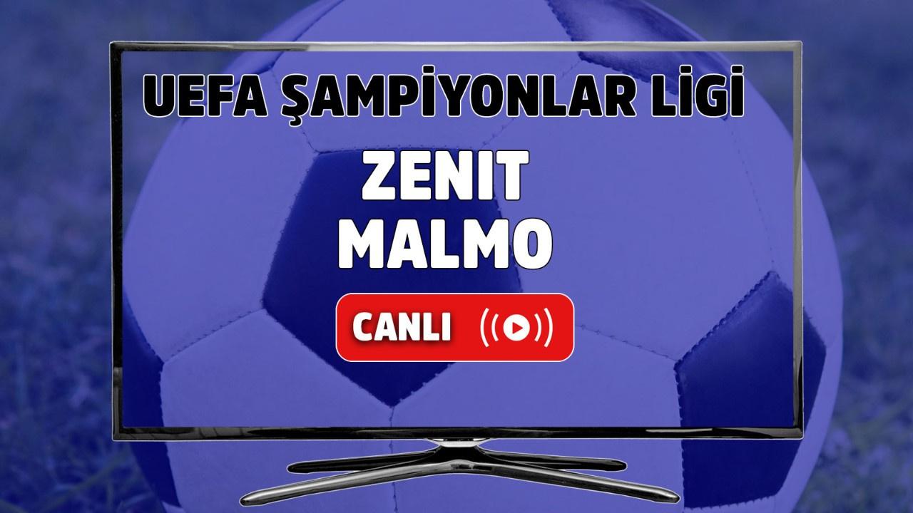 Zenit – Malmö Canlı izle