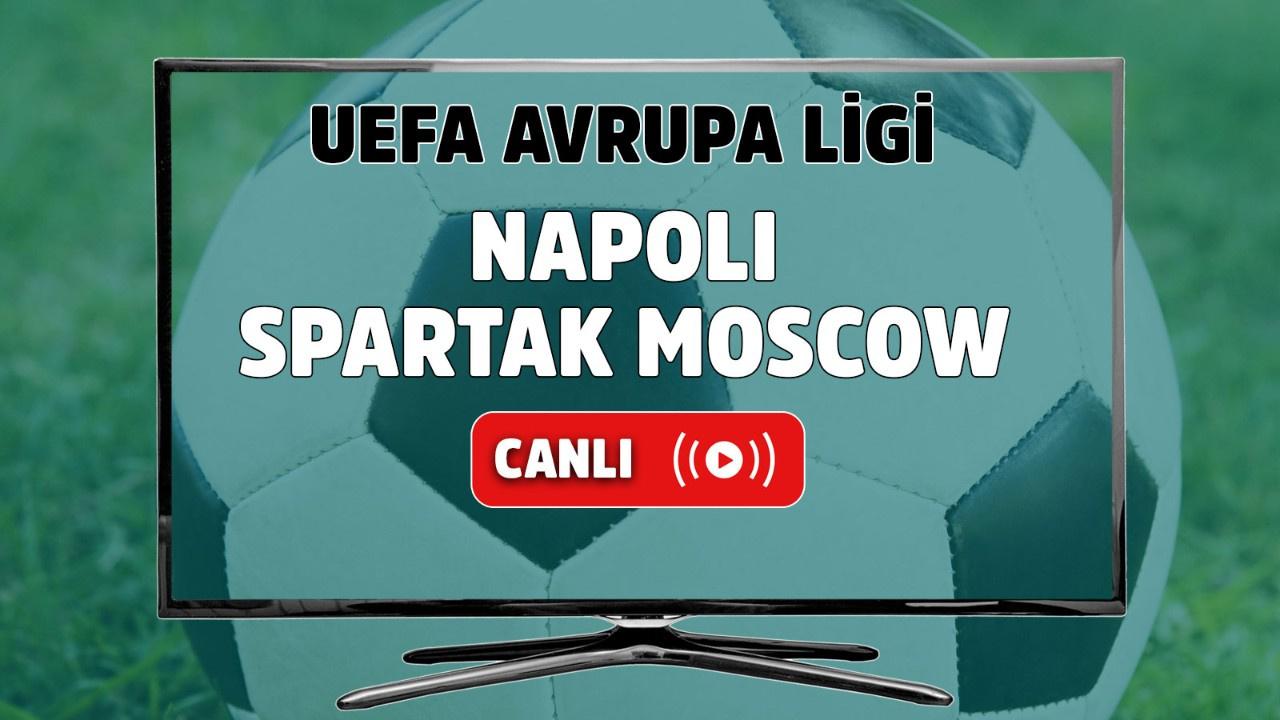 Napoli – Spartak Moskova Canlı izle