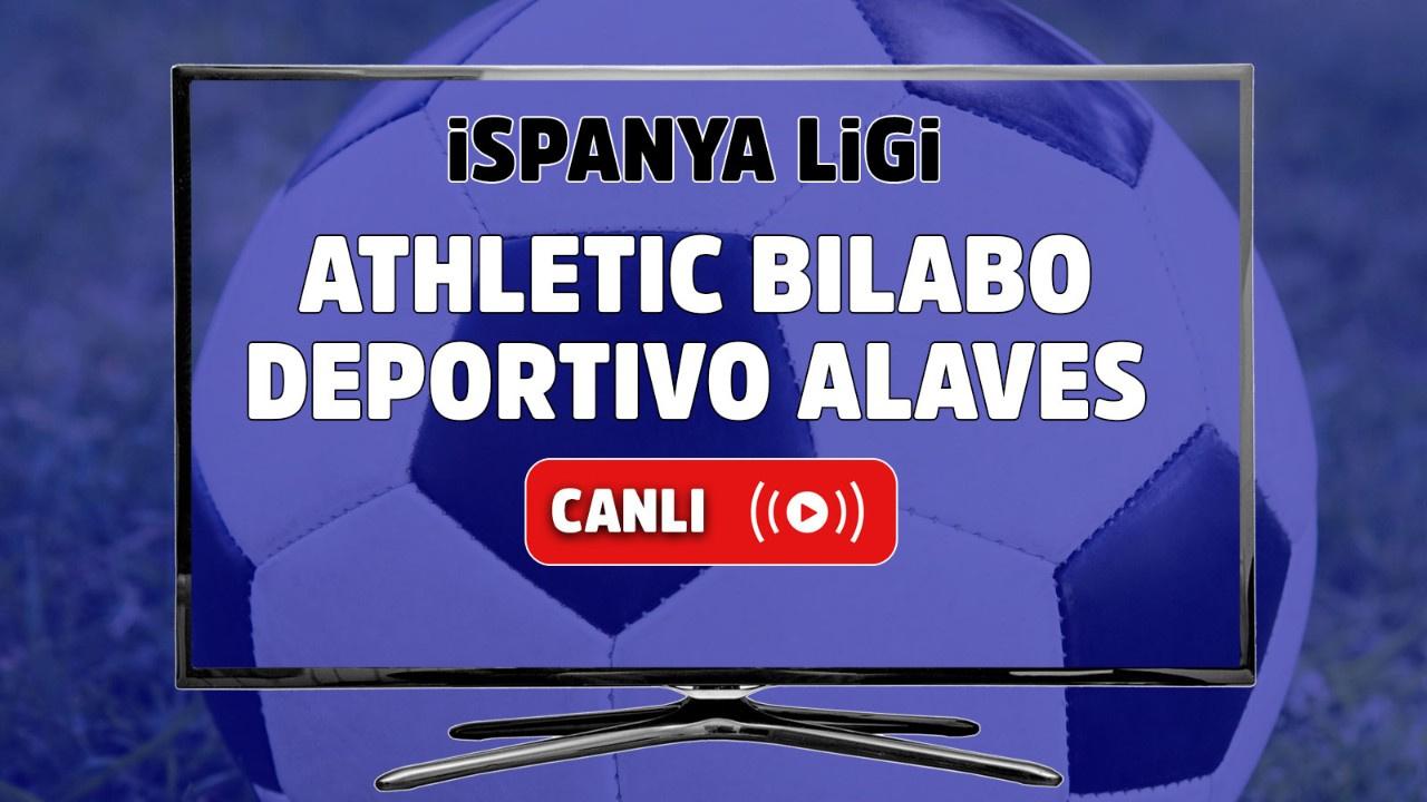 Athletic Bilabo – Deportivo Alaves Canlı izle