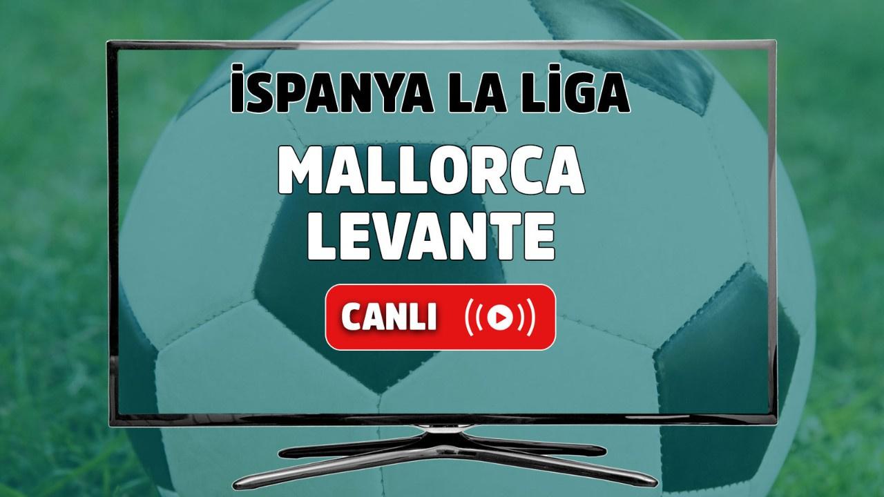Mallorca-Levante Canlı