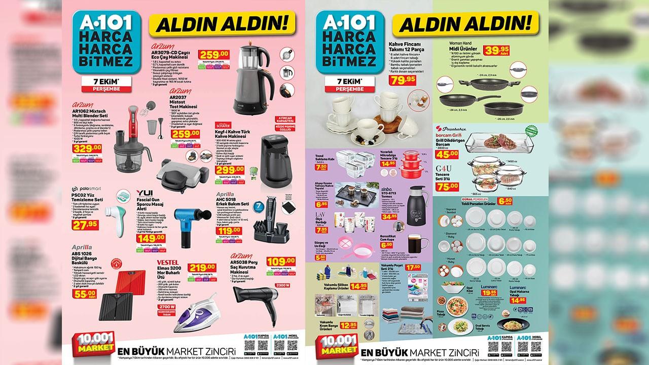 A101 7 Ekim 2021 Aktüel ürünler kataloğu!