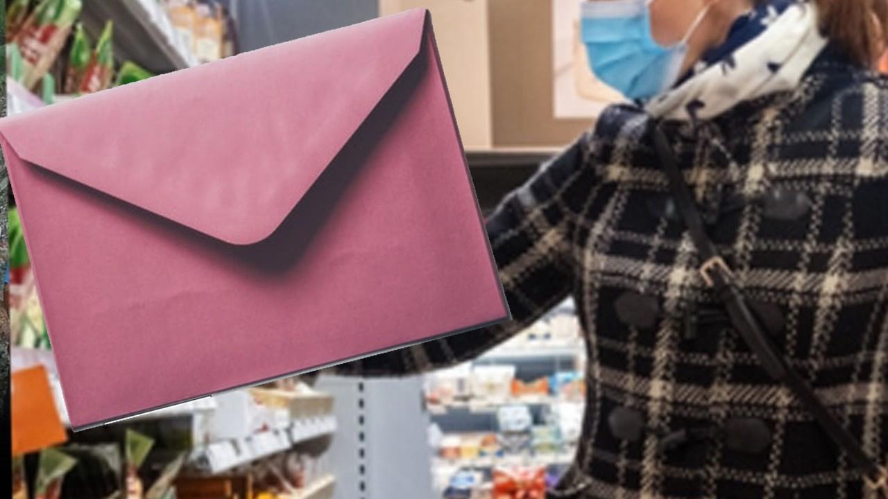 Market çalışanına zarf içinde sperm gönderdi