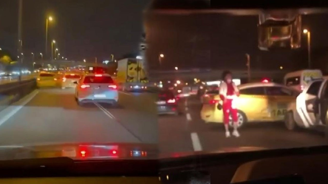 Makas atarak ilerlen sürücü kazaya neden oldu