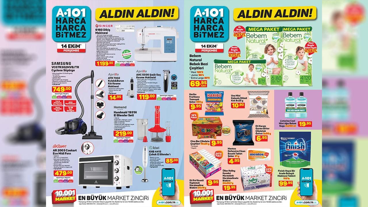A101 15 Ekim 2021 Aktüel ürünler kataloğu! A101'de bu hafta neler var? A101 indirimli ürünler listesi