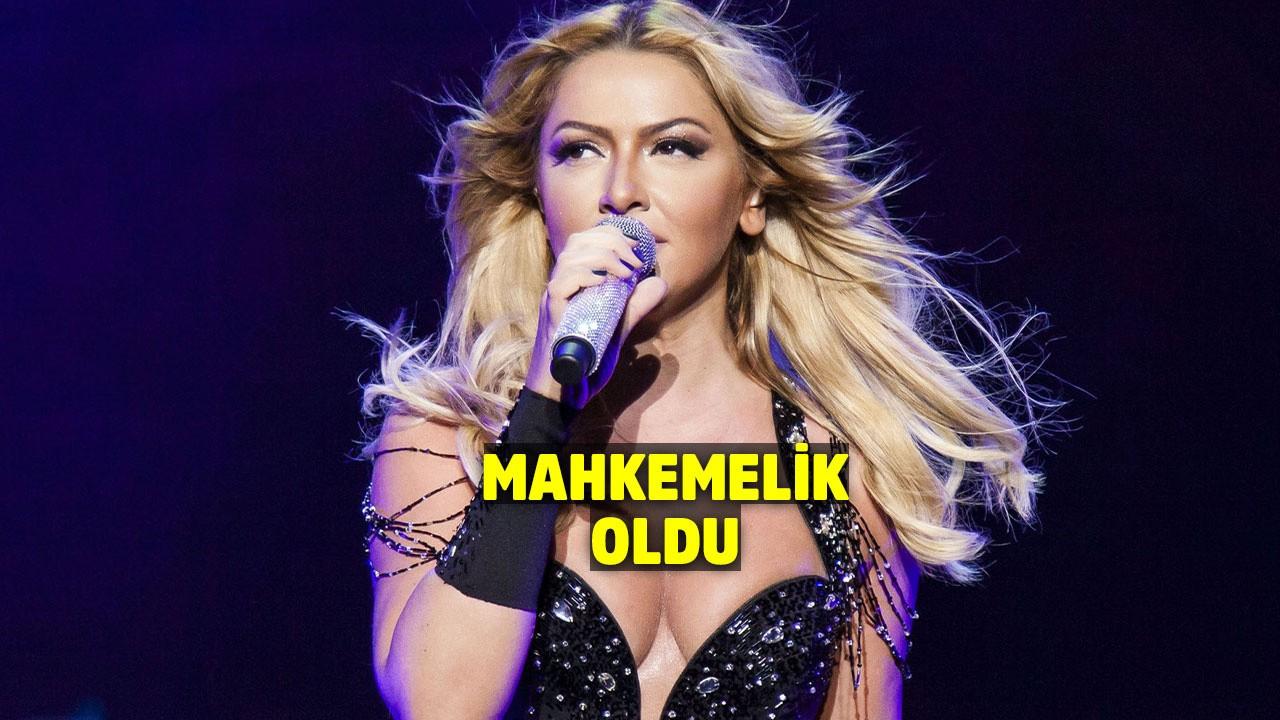 Ünlü şarkıcı Hadise'ye büyük şok!