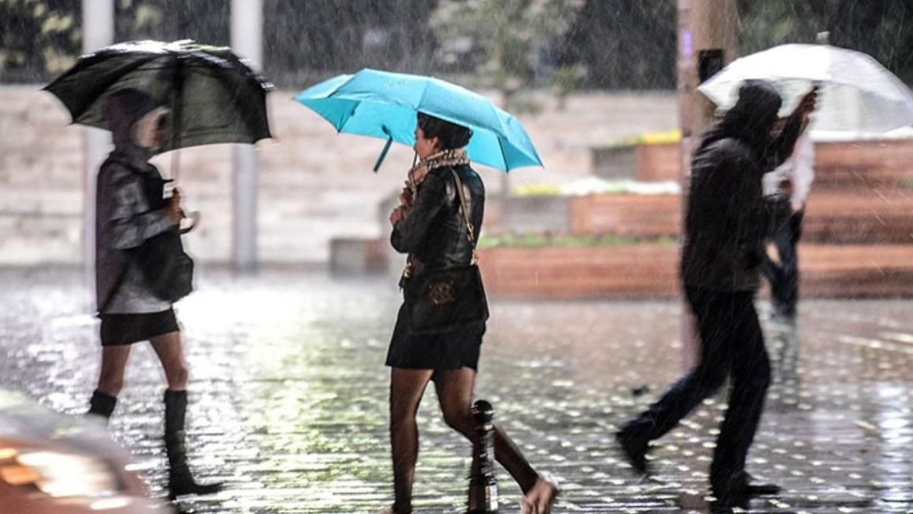 Birçok ilde kuvvetli yağış bekleniyor