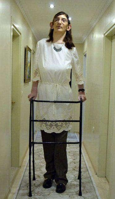 Dünyanın en uzun boylu kadını Rümeysa Gelgi Guinness Rekorlar Kitabı'nda! - Sayfa 4