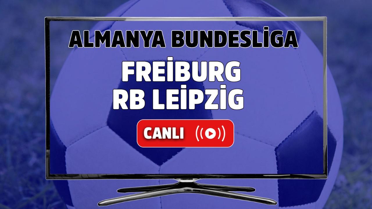 Freiburg-RB Leipzig Canlı izle