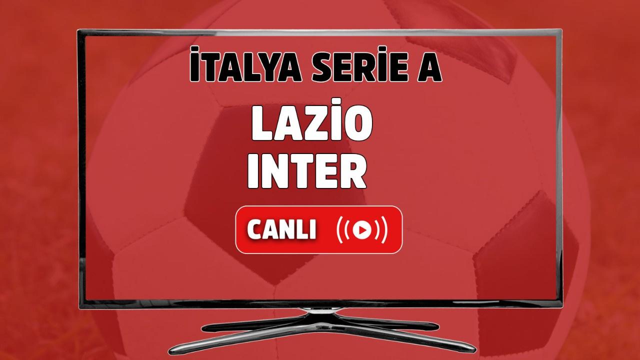 Lazio-Inter canlı maç izle