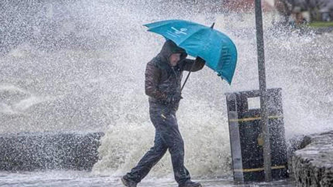 Şiddetli olacak! Meteoroloji'den kuvvetli yağış uyarısı
