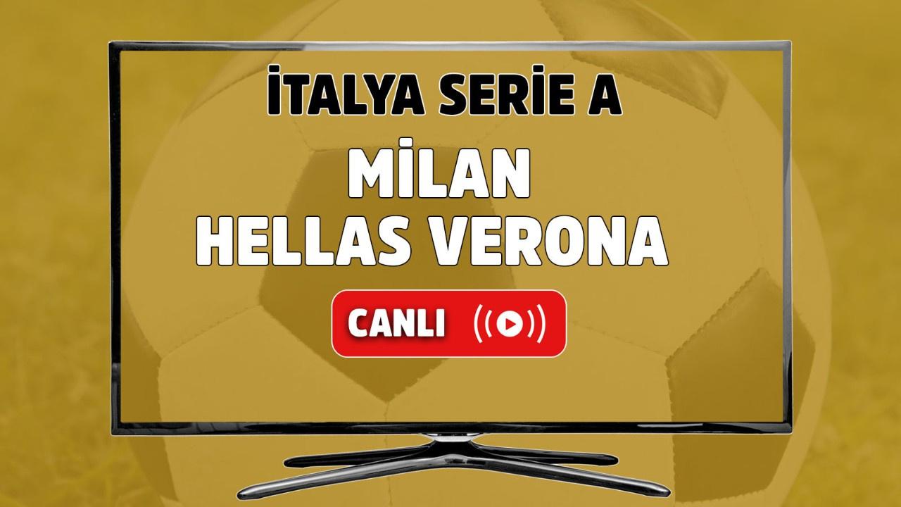 Milan-Hellas Verona canlı maç izle