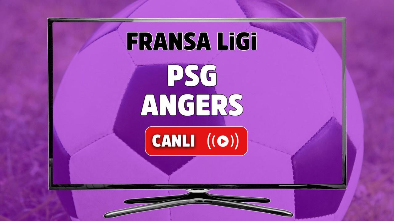 PSG - Angers Canlı maç izle