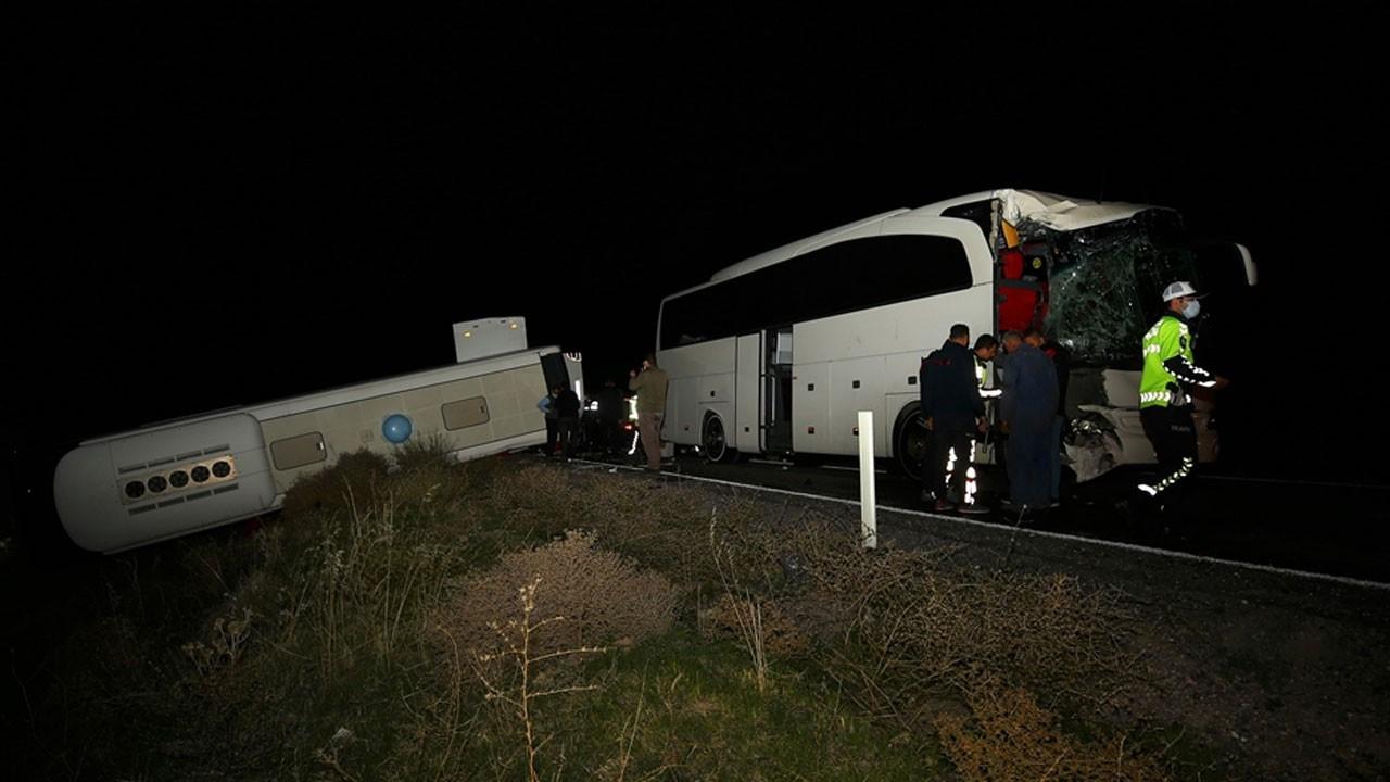 Kazada 39'u öğrenci 44 kişi yaralandı
