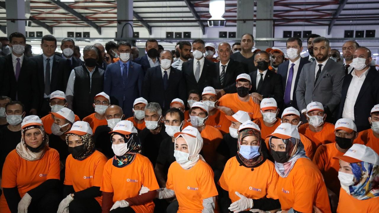 Avrupa'nın en büyük iplik fabrikası Tokat'a açıldı