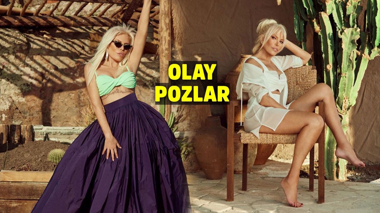 Ajda Pekkan'ın yeni albüm pozları mest etti