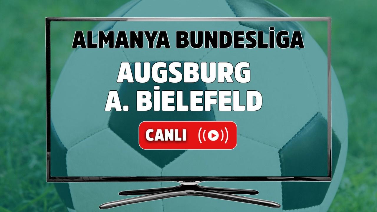 Augsburg-A. Bielefeld canlı izle
