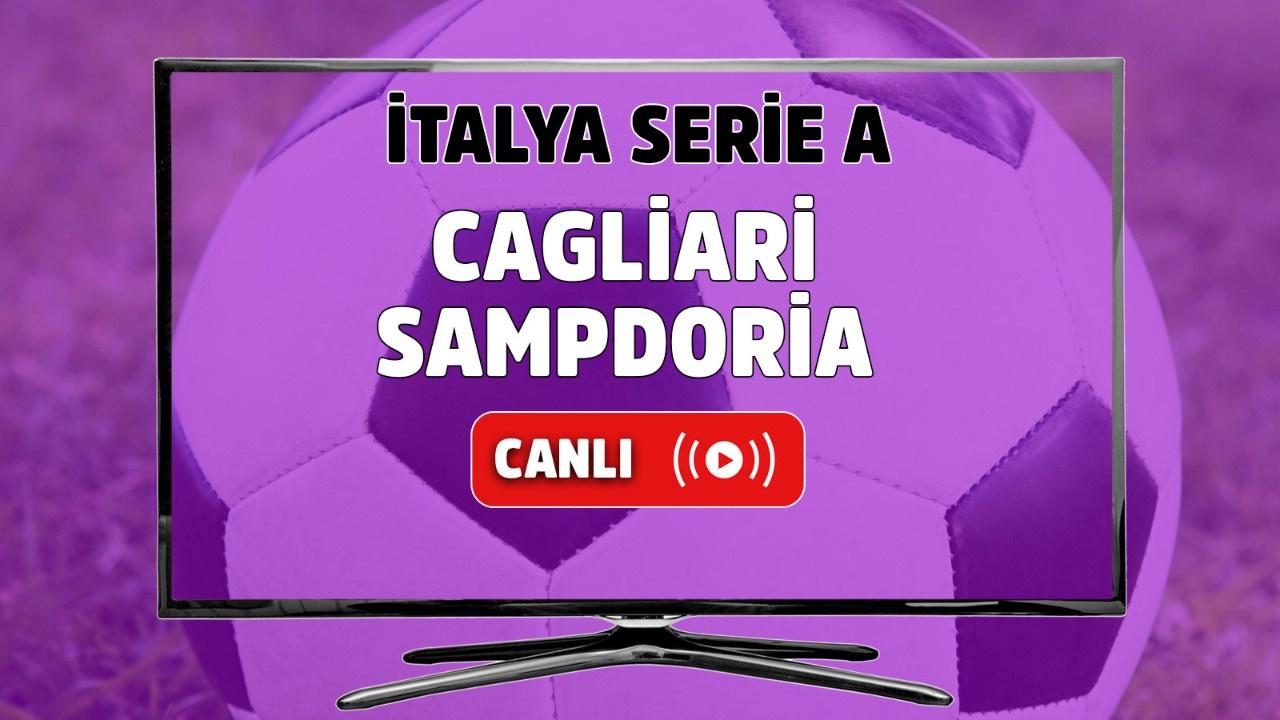 Cagliari Sampdoria Canlı maç izle