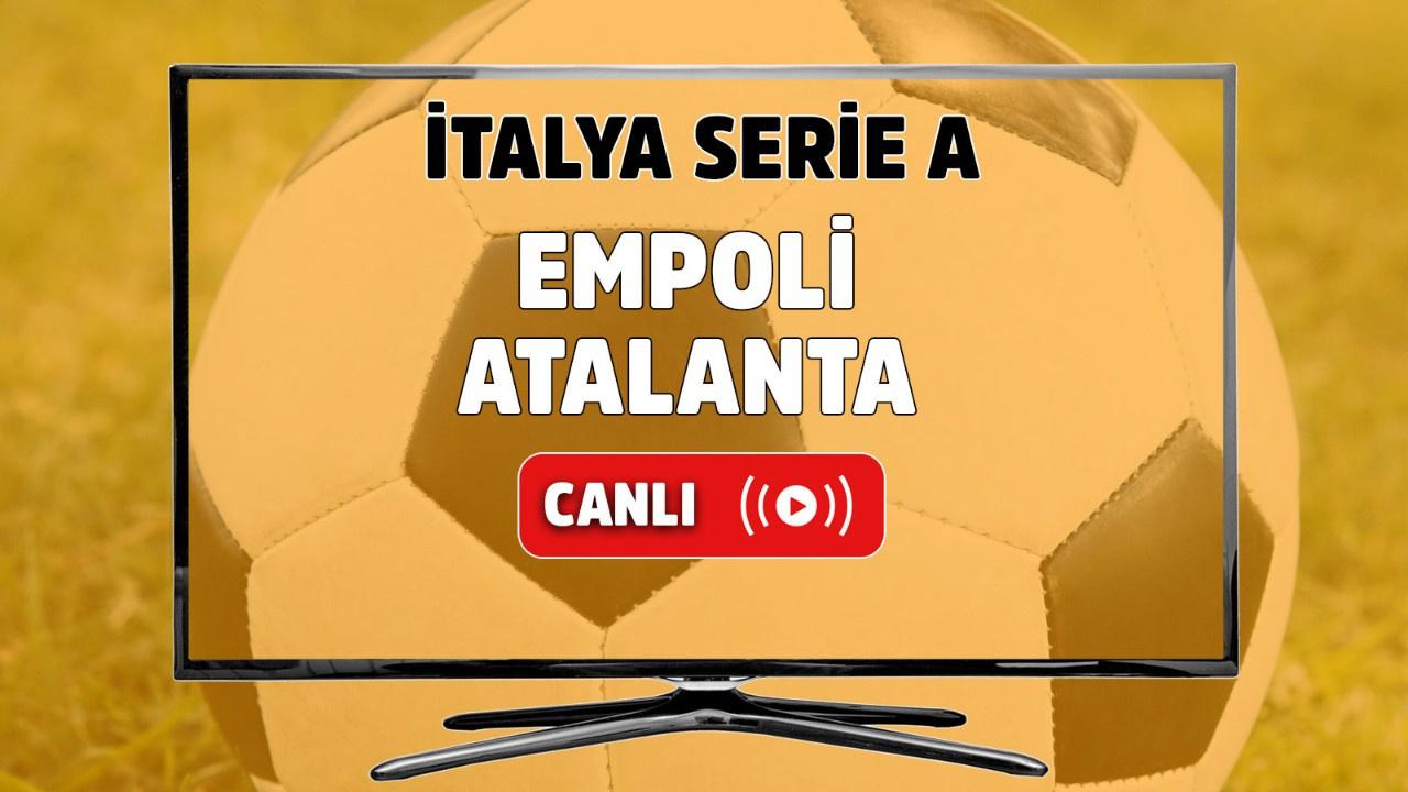 Empoli-Atalanta Canlı izle