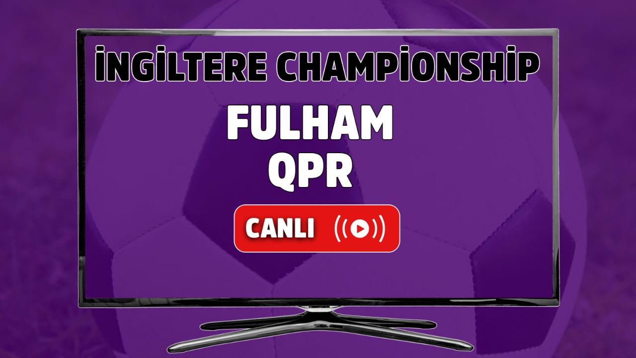 Fulham-QPR canlı izle
