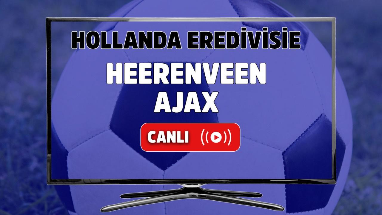 Heerenveen-Ajax canlı maç izle