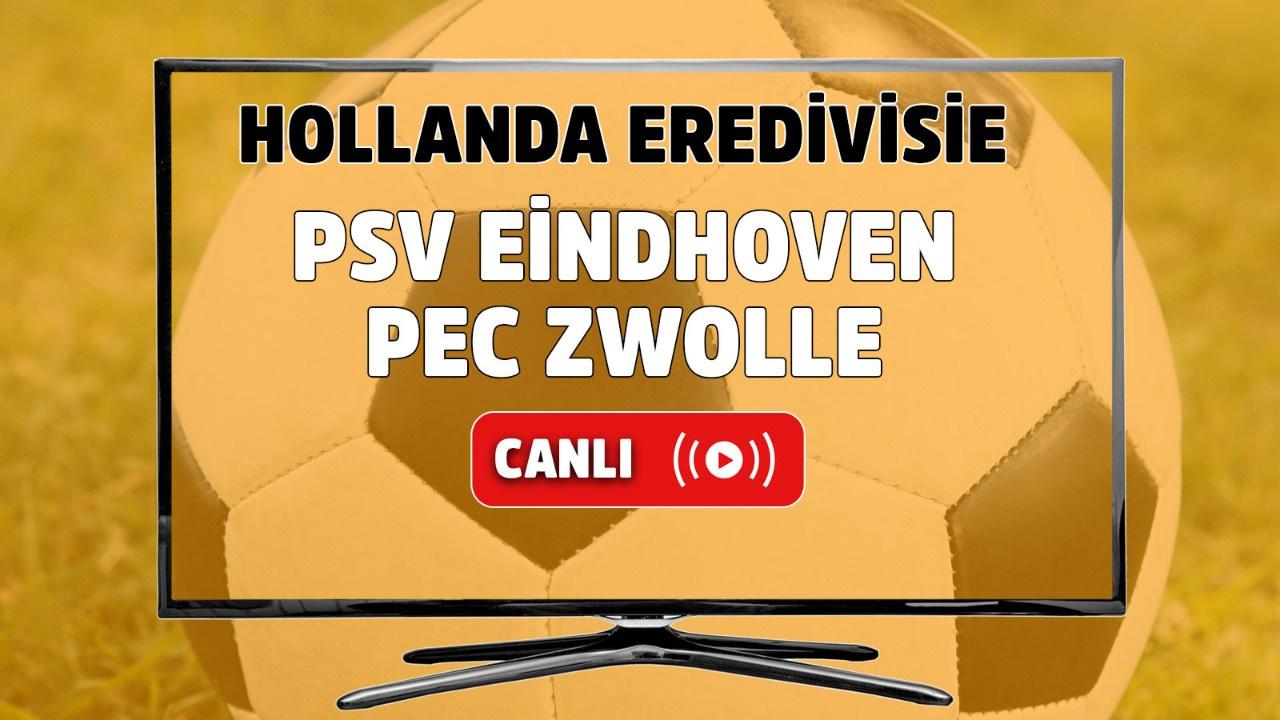 PSV Eindhoven-PEC Zwolle canlı maç izle