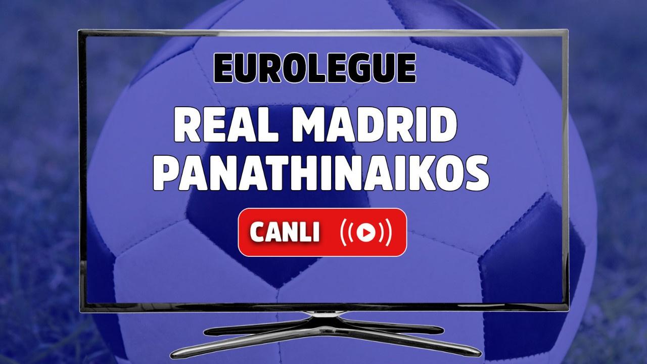 Real Madrid - Panathinaikos Canlı basket maçı izle