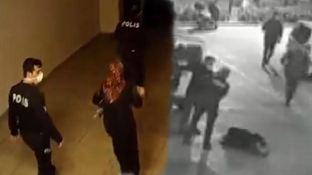 Boğazına süt kaçan bebeği polis hayata döndürdü!