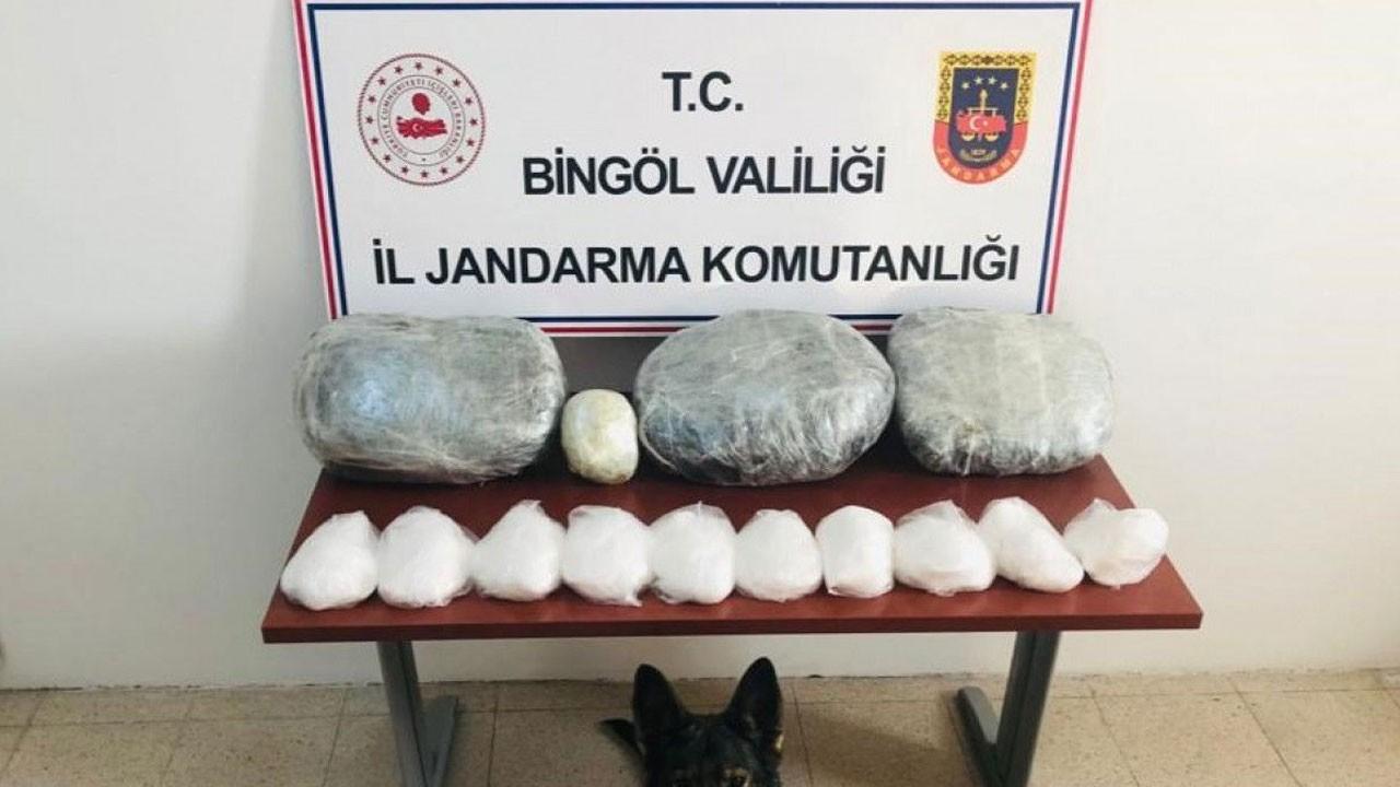 4,5 milyon liralık uyuşturucu ele geçirildi