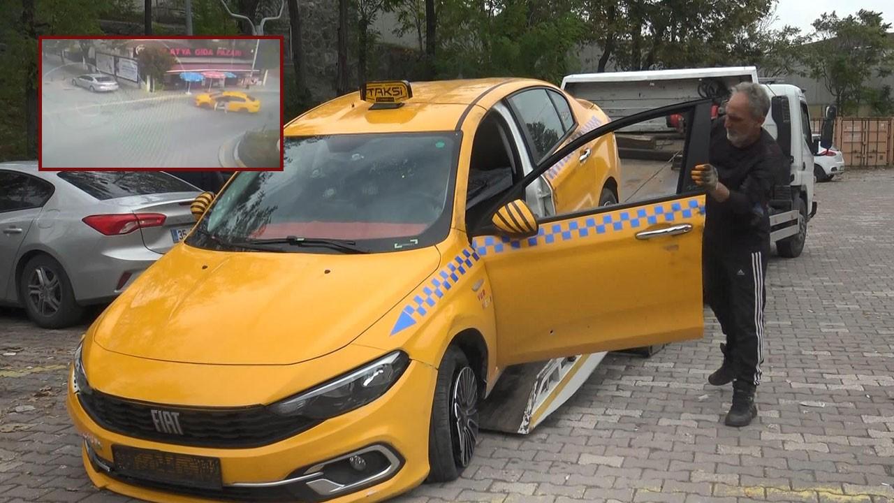 İstanbul'da film gibi olay! Yolcusu olduğu taksiyi çaldı, yaptığı pes dedirtti