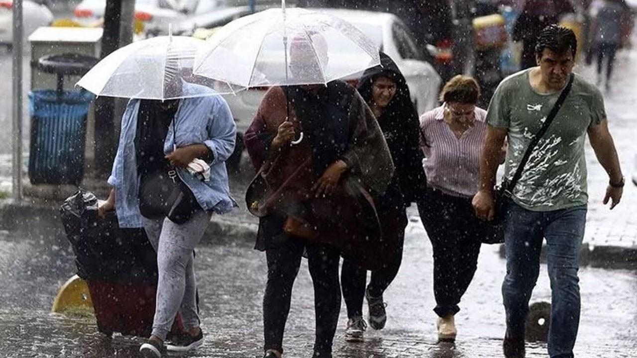 Marmara, Ege, Batı Akdeniz, İç Anadolu'nun kuzeybatısı ve Batı Karadeniz için sağanak yağış uyarısı