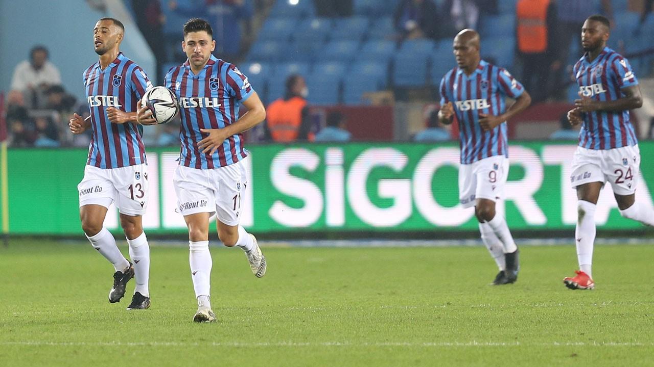Bakasetas attı, Trabzonspor liderliğe oturdu