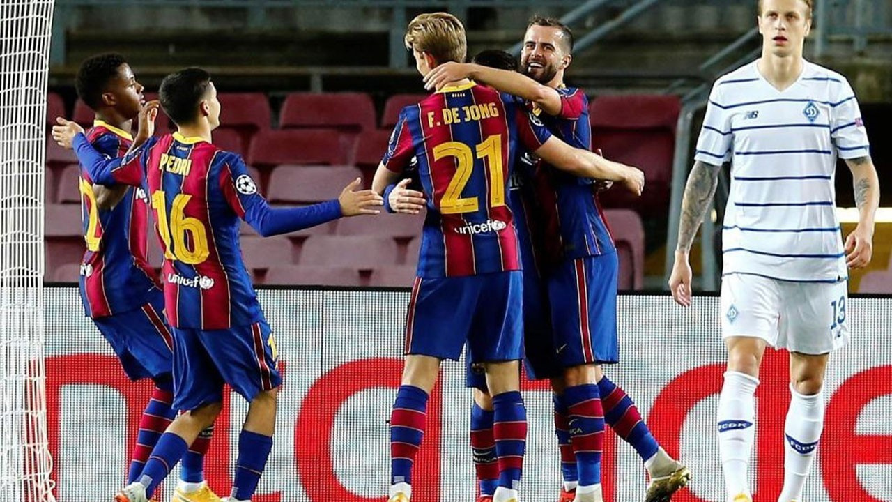 Barcelona Dynamo Kiev maçı hangi kanalda?