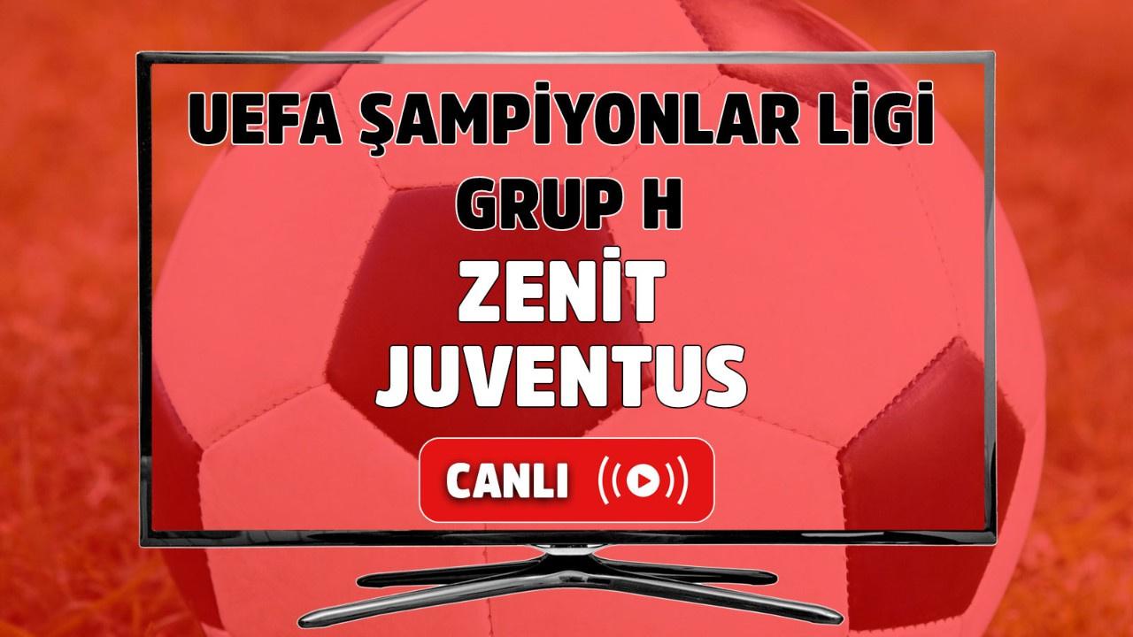 Zenit-Juventus Canlı maç izle
