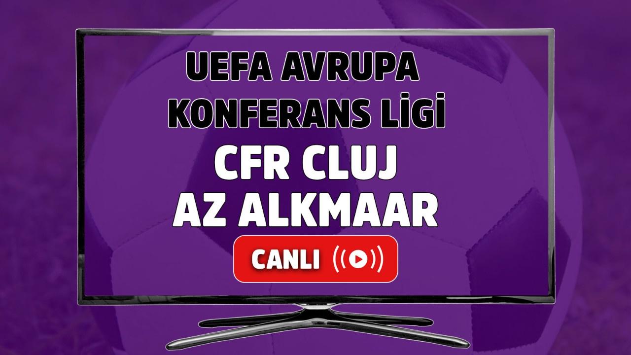 CFR Cluj-AZ Alkmaar Canlı maç izle
