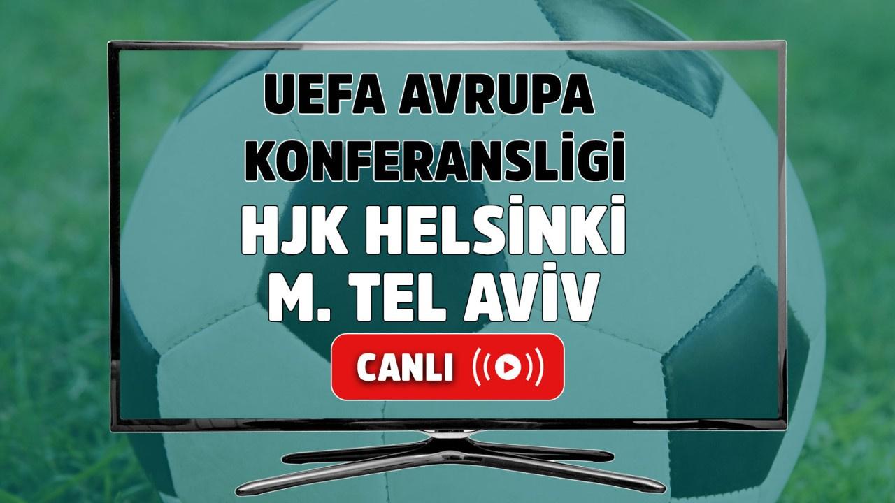 HJK Helsinki M. Tel Aviv Canlı maç izle