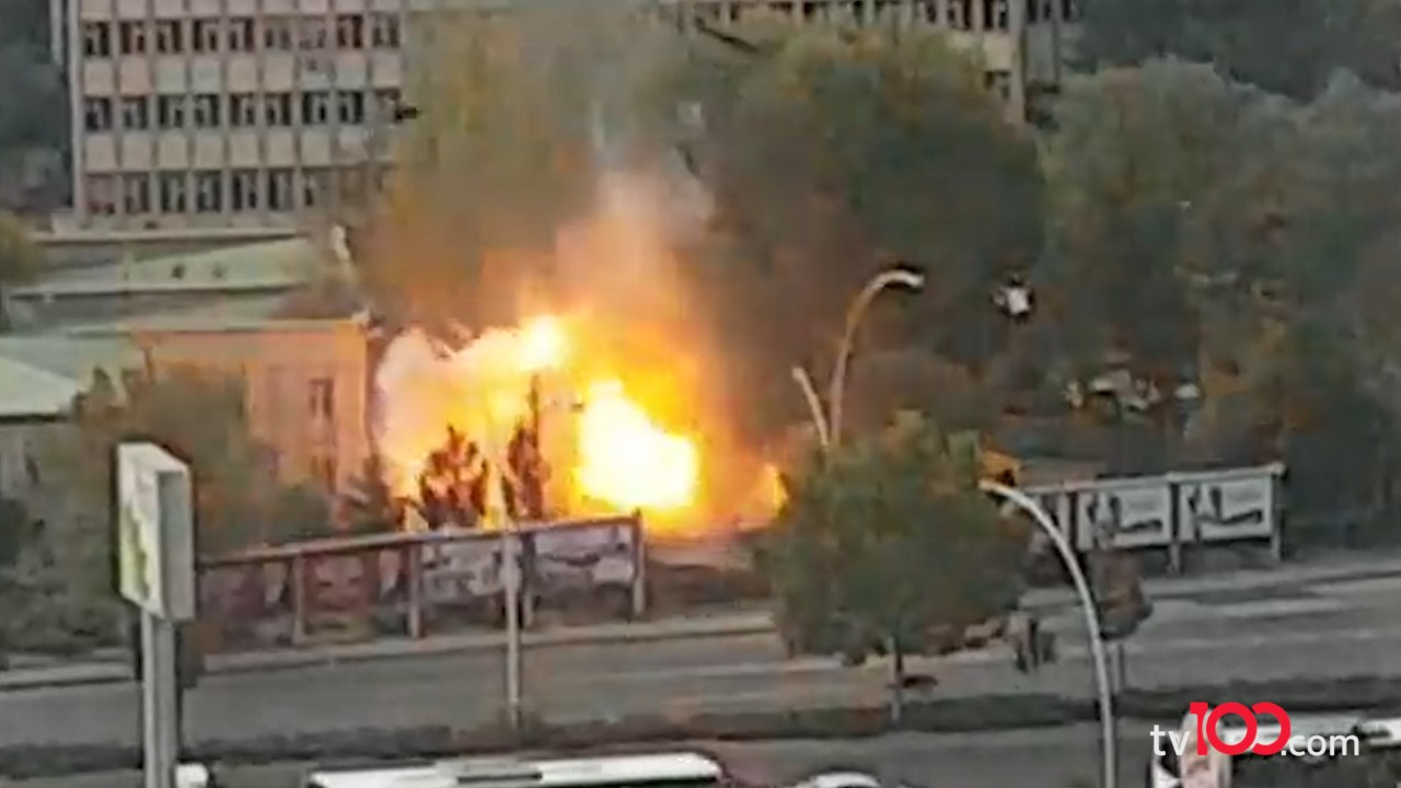 Ankara'da MTA Kampüsü'nde patlama