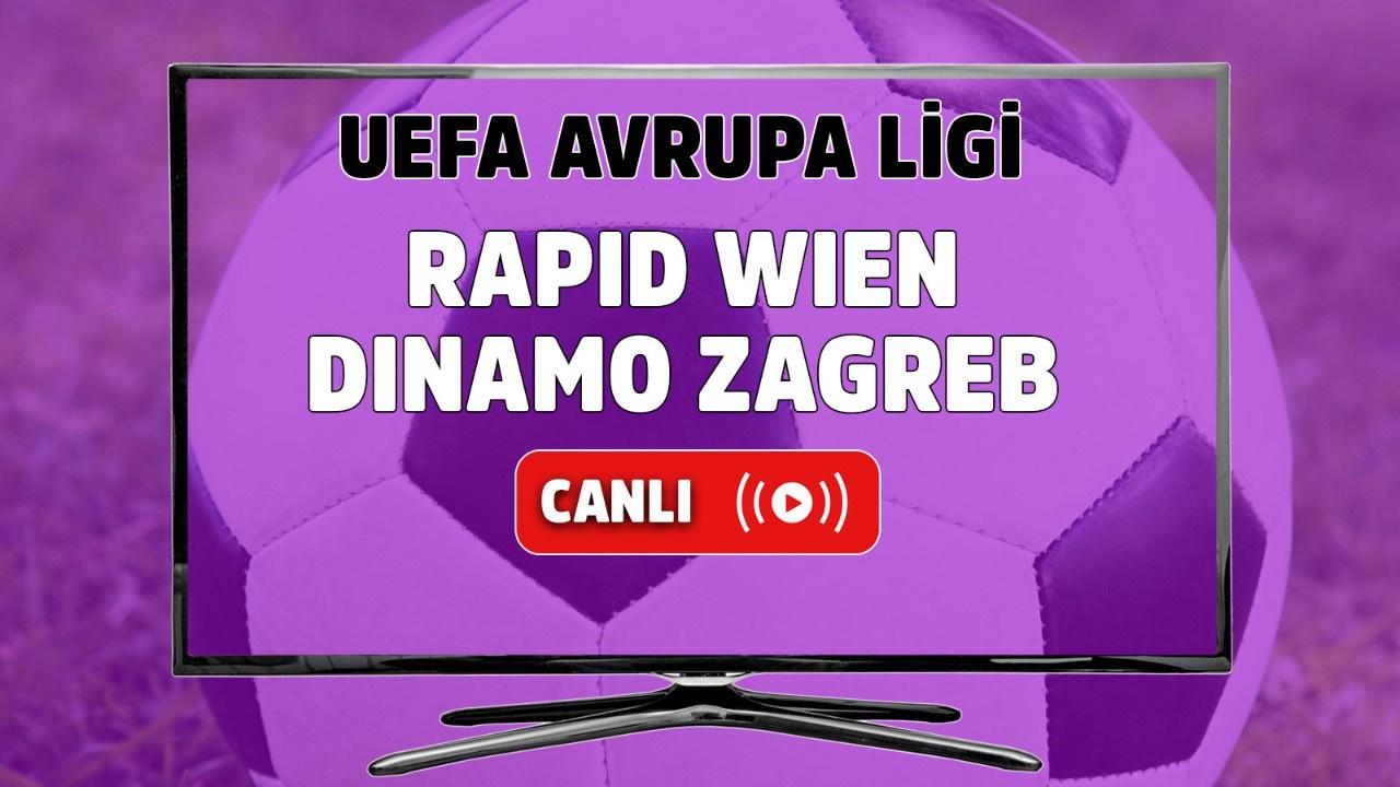 Rapid Wien-Dinamo Zagreb Canlı