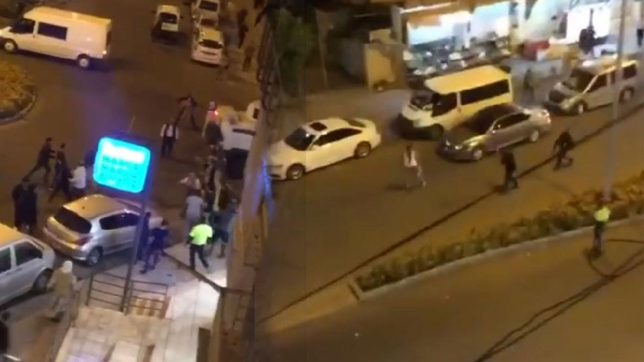 """""""Neden park ettin"""" davası 12 kişi yaralandı"""