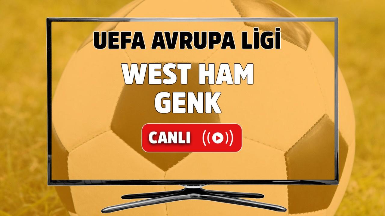 West Ham-Genk Canlı maç izle