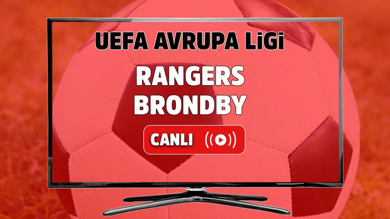 Rangers - Brondby Canlı maç izle