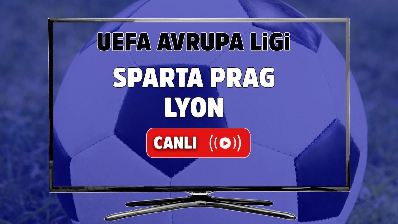 Sparta Prag - Lyon Canlı maç izle