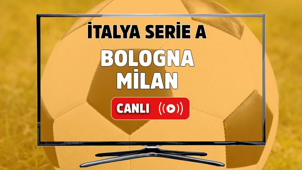 Bologna Milan Canlı maç izle