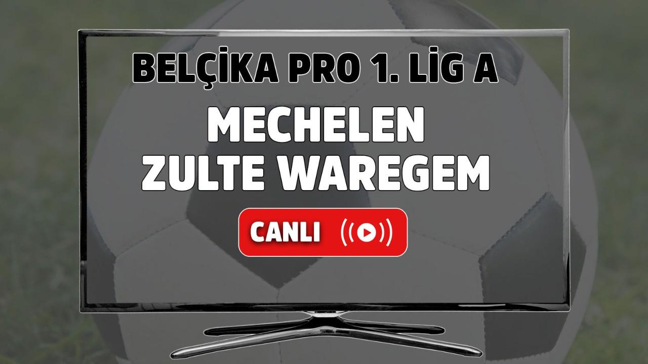 Mechelen-Zulte Waregem Canlı maç izle