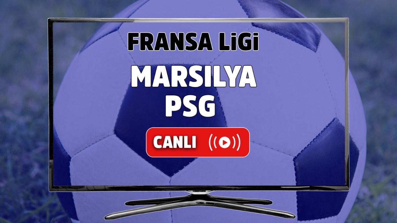 Marsilya - PSG Canlı maç izle