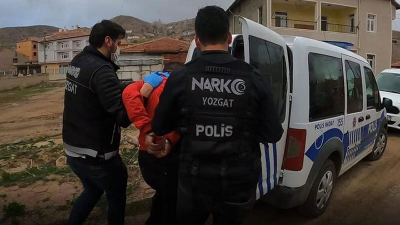 Yozgat'ta 20 kilo 950 gram eroin ele geçirildi! Bir şüpheli tutuklandı