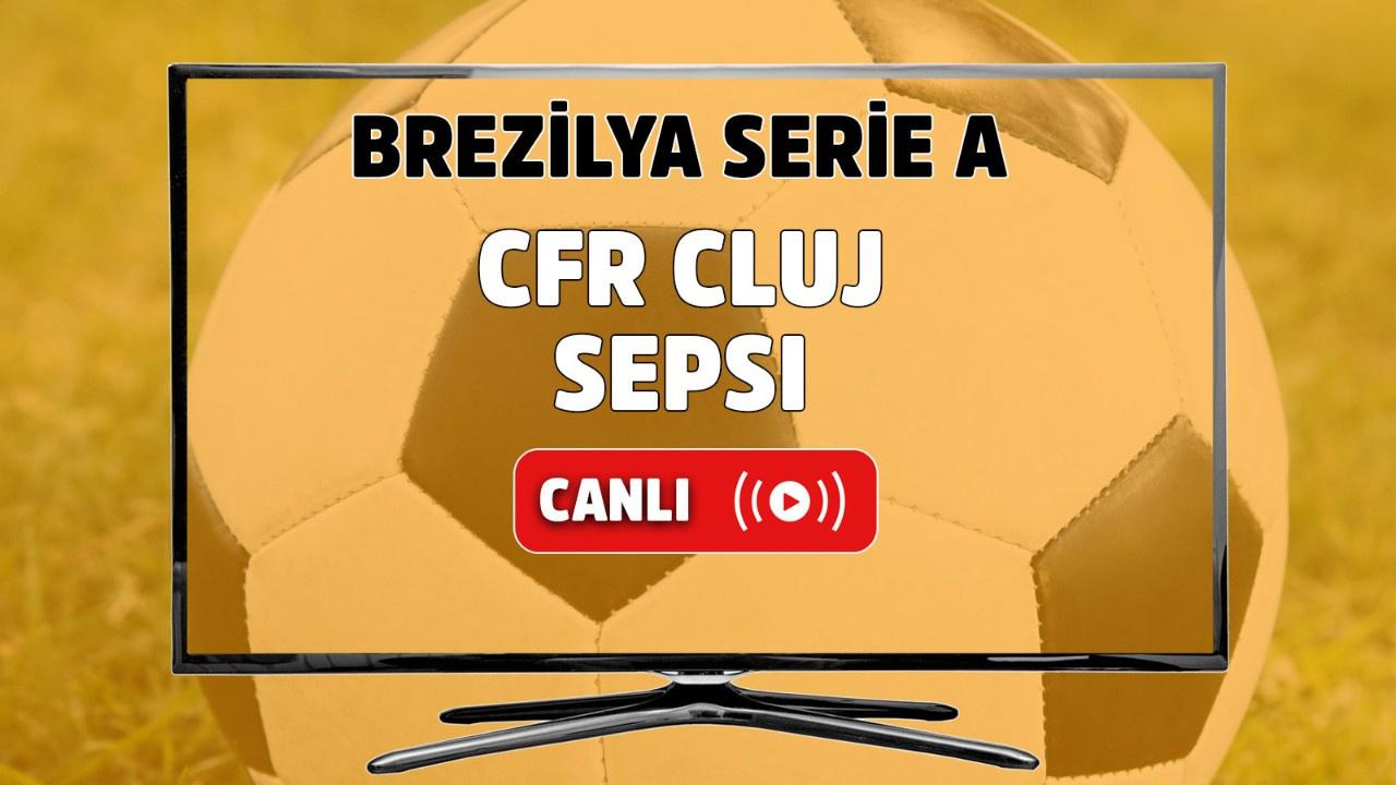CFR Cluj Sepsi Canlı maç izle
