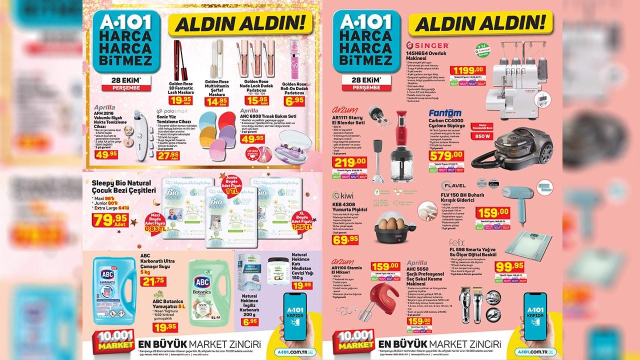 A101 28 Ekim 2021 Aktüel ürünler kataloğu! A101'de bu hafta neler var? A101 indirimli ürünler listesi